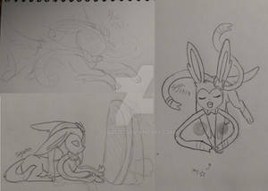 Sylveon Sketches