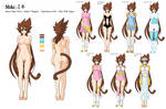 + Miki Character Outfit Design +