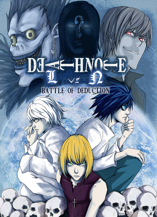 Death Note, battle of deduction