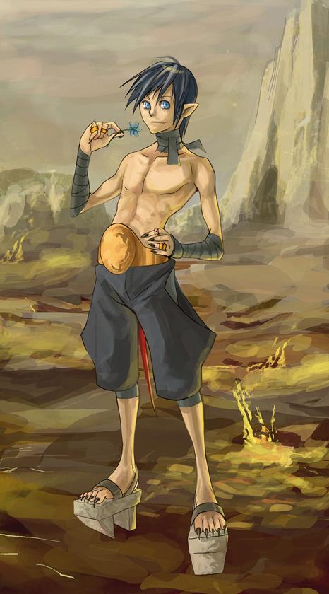 Character concept: Daitai by Hani7
