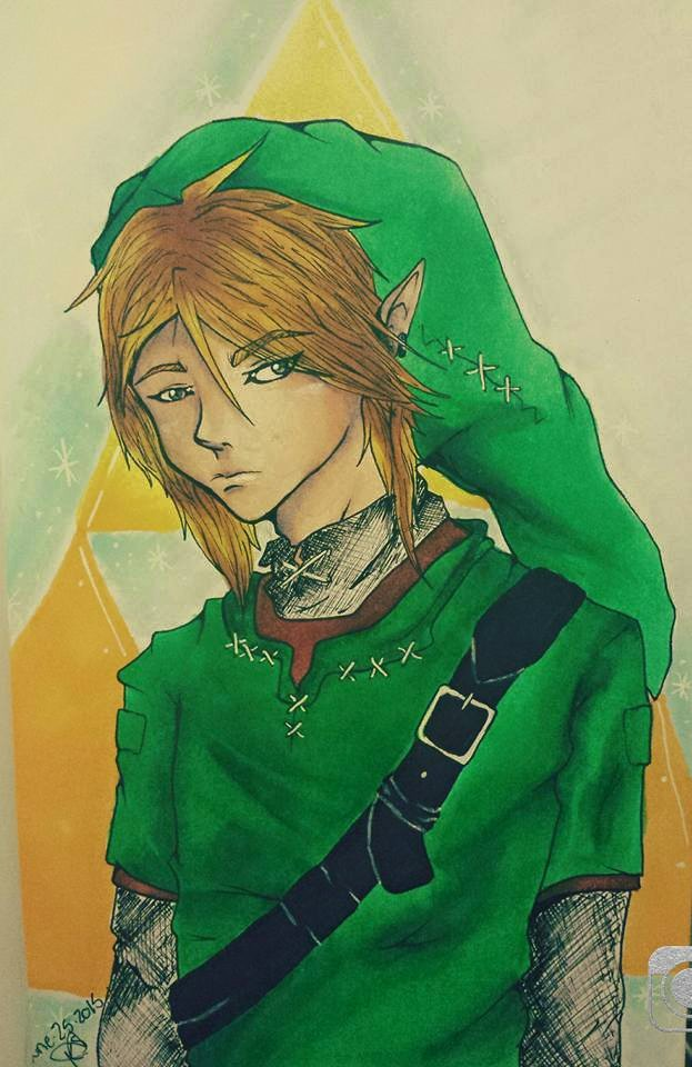 The Hero Link by pinkmonster7