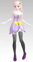 MMD PDAFT Fairy Macaron Luka Dl by Rin-Chan-Now