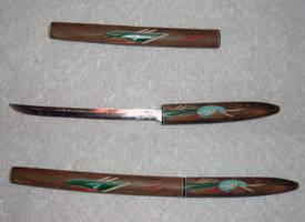 Knife and Sheath by KiwiRose-Stock