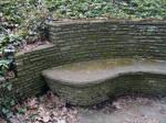 Stone Bench -Left-