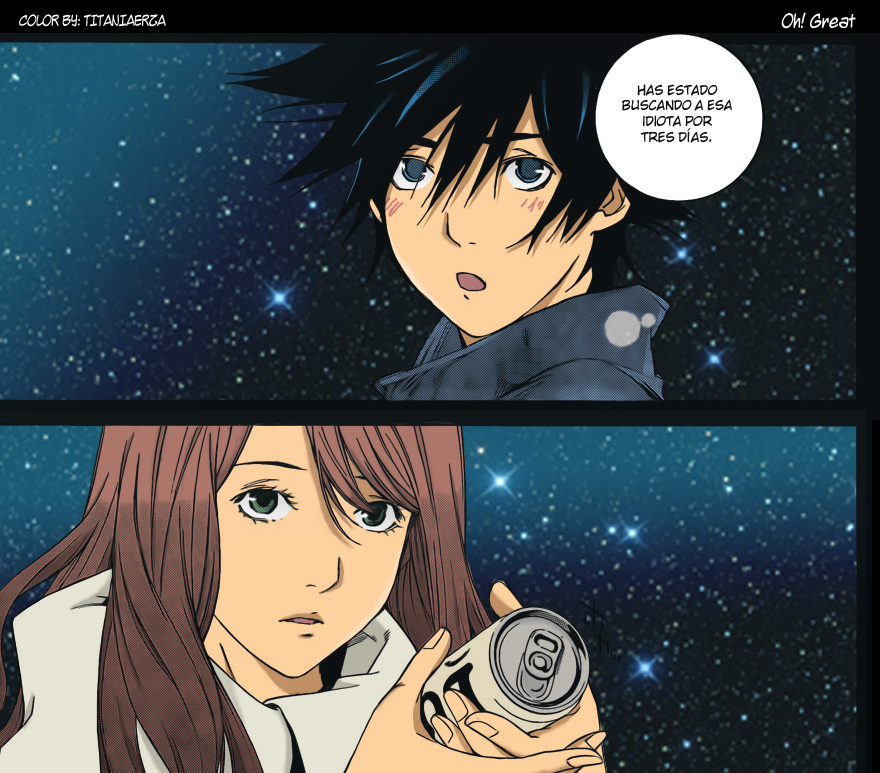 Air gear 266 Rika and Ikki by titaniaerza