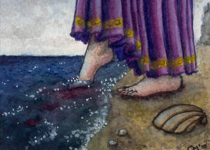 ACEO 6 - The Little Mermaid 06