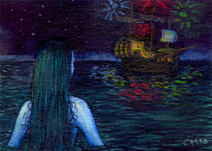 ACEO 3 - The Little Mermaid 02