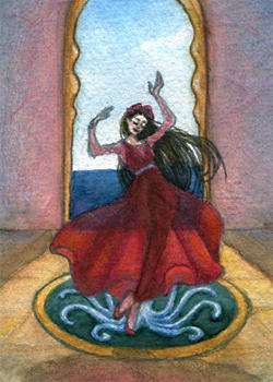 ACEO 5 - The Little Mermaid 05