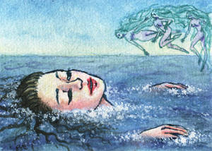 ACEO 9 - The Little Mermaid 09