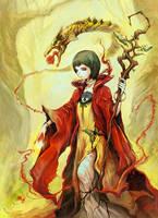Tarot card - The Magician by asuka111