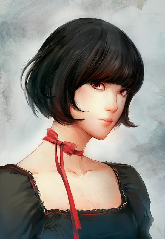 The Red Ribbon by asuka111