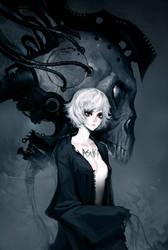 Skull Head by asuka111