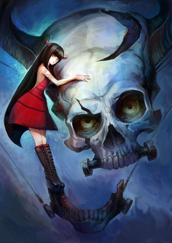 Skull Head II