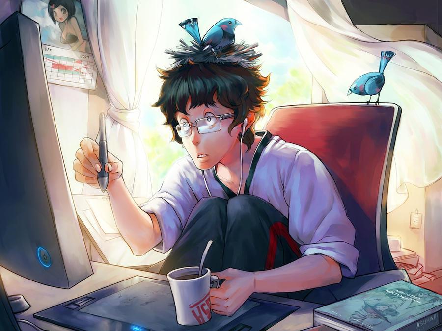 Freelancer Life by asuka111