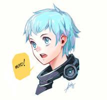 Random girl with dA Muro by asuka111