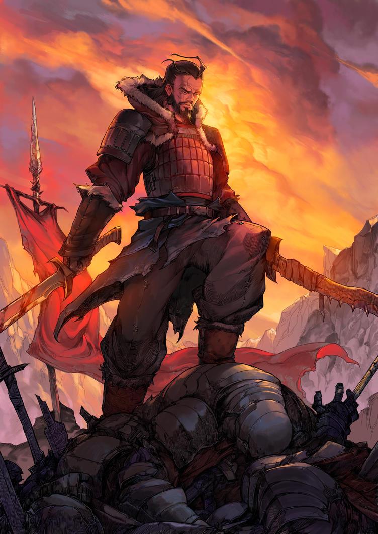 Genghis Khan by asuka111