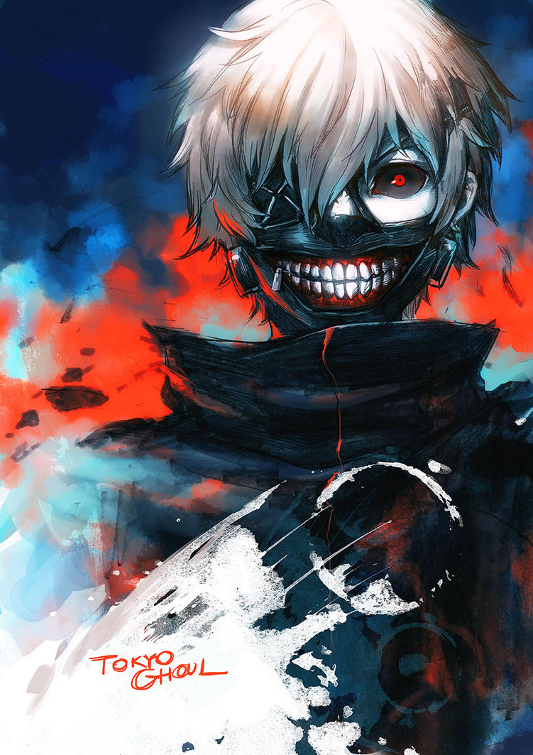 Tokyo Ghoul Ken Kaneki it's better to be nice than mean