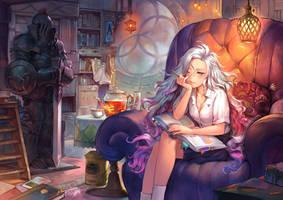 Library by asuka111