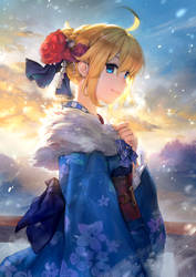 Saber from FGO