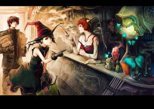 The magical pigment shop