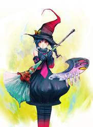 The creative magician girl by asuka111