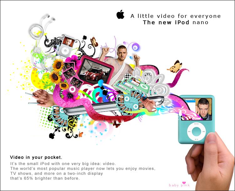 iPod nano by baby-pink