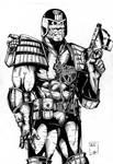 Judge Dredd ink