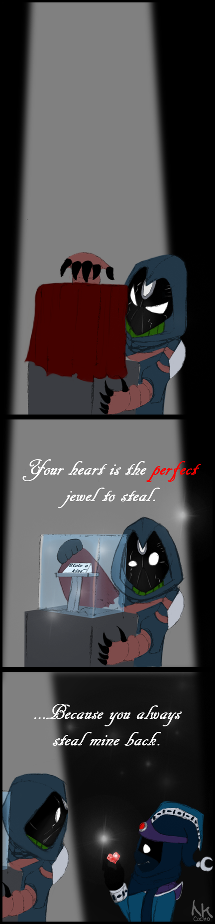 Thieving Valentine by Cocho