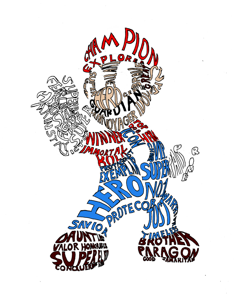 typography assignment mario by primogenitor34 on deviantart
