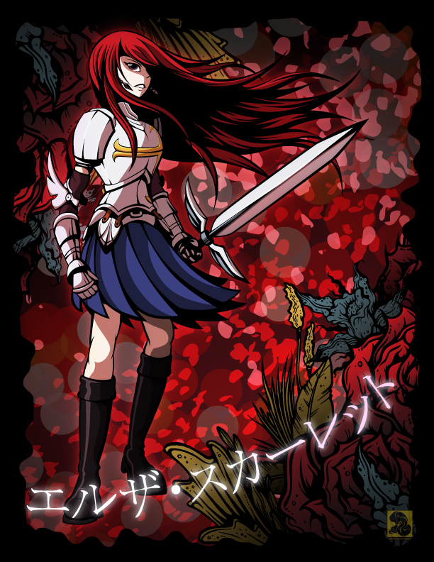 Erza Scarlet by Primogenitor34
