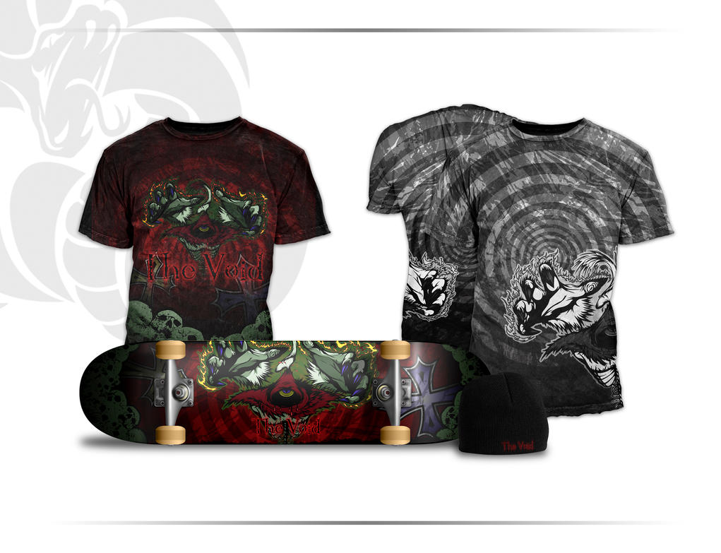 The Void Skate Apparel Line-Up by Primogenitor34