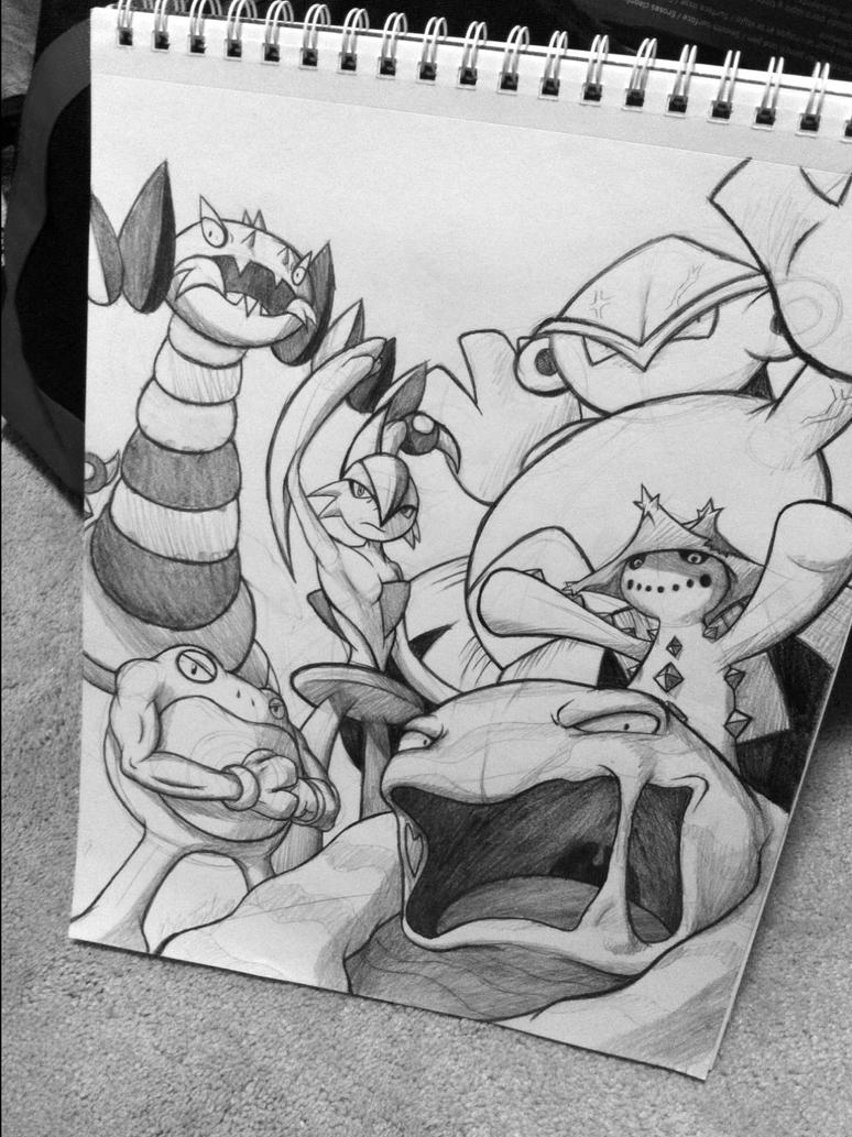Favorite Pokemon WIP by Primogenitor34