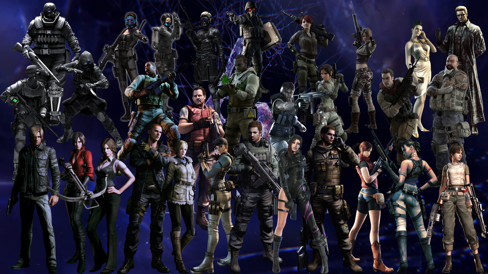 Resident Evil 4 All Characters
