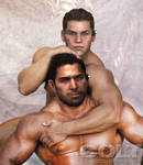 Chris Redfield and Piers Nevans