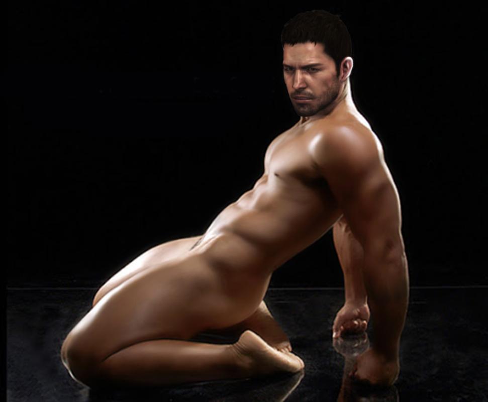 naked ginger bent over naked
