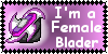 Female Blader Stamp by Sabor-X