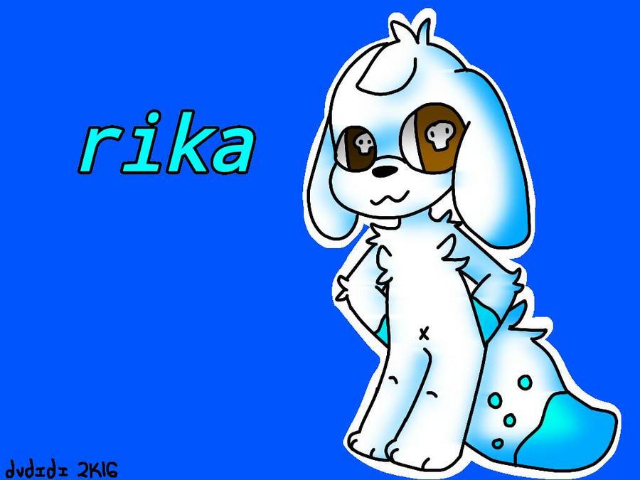 rika art trade by ItsDidi