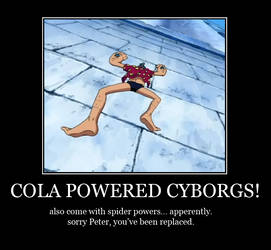 Cola Powered Cyborgs - Motivational by Igelavar