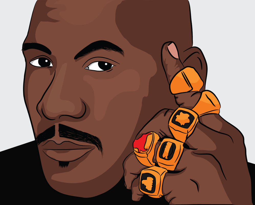 Michael Jordan 6 Rings By RoshaneIngram
