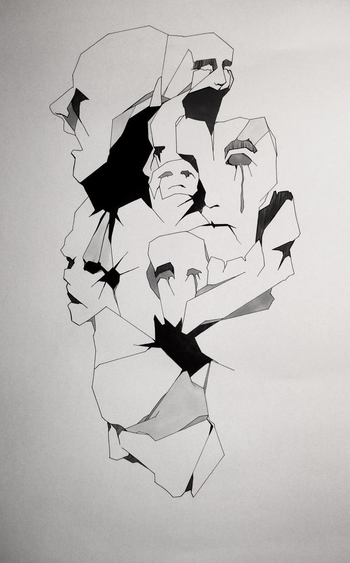 Broken things - People by Feleri