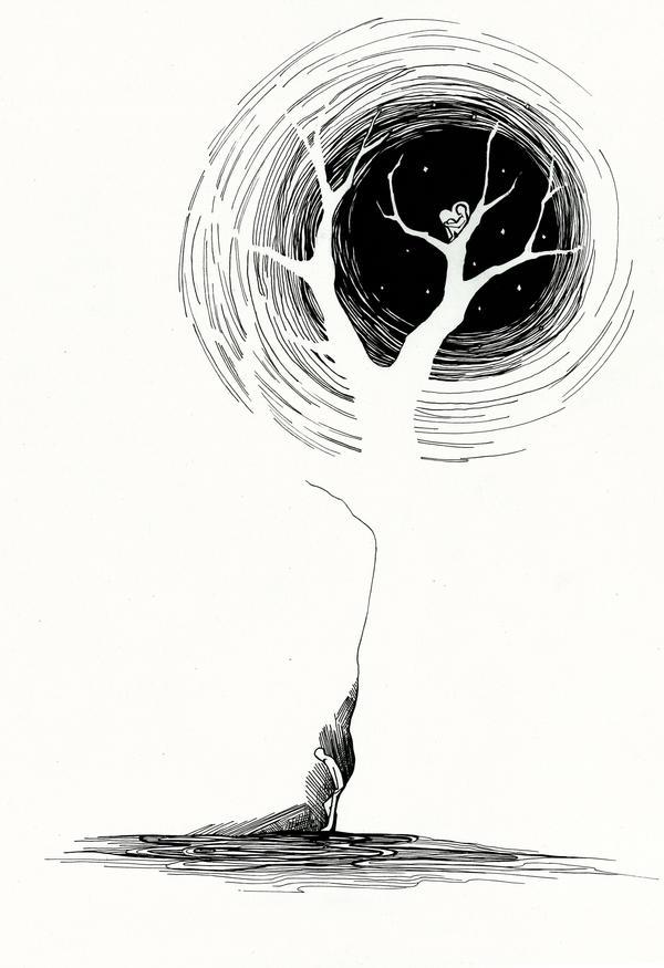 Illustration to a poem by Feleri