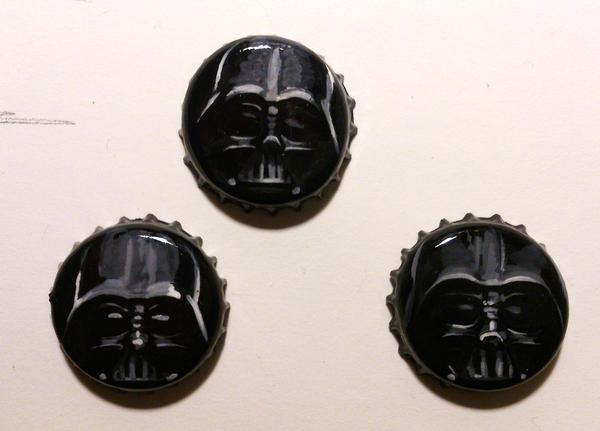 Darth Vader versions by Feleri