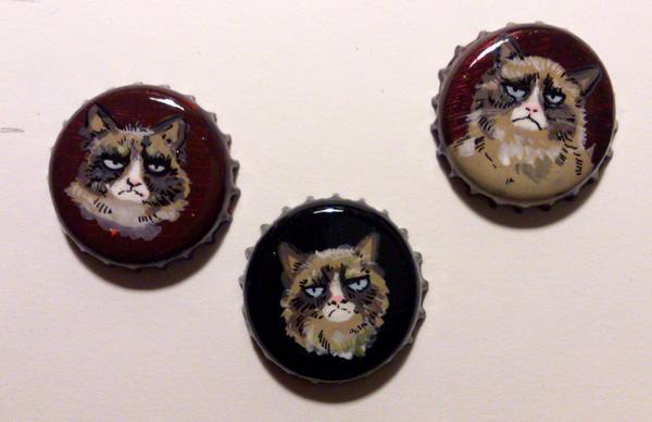 Grumpy cat by Feleri