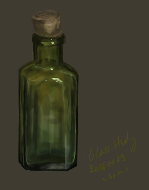Material study - glass by Feleri