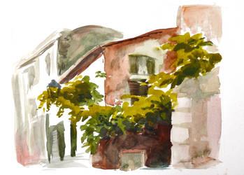 Rome, Trastevere 2 by Feleri