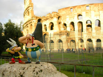 Asterix and Obelix in Rome by Flaco1980