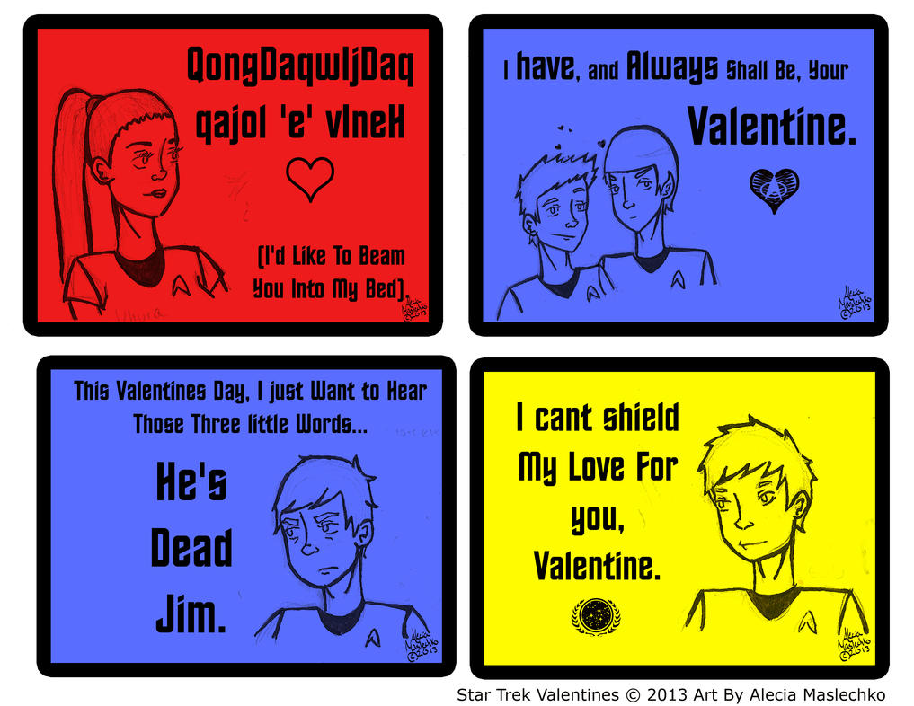 Star Trek Valentines Page 2 By Corazongirl ...