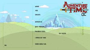 Adventure Time OC Blank meme by corazongirl