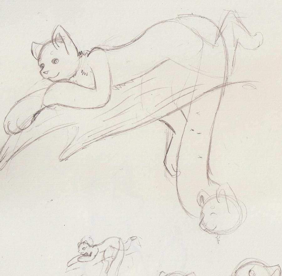 Anime Cat Anthro Base Cat Anthro Base Maybe by