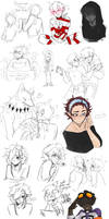 DAMMED that's a lot of sketches 13